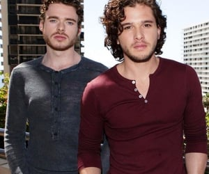 richard madden and kit harington image