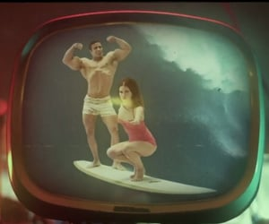 music video, surfboard, and lana del rey image
