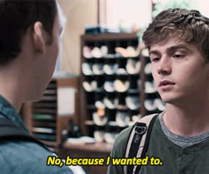 gif, 13 reasons why, and tyler down image