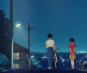 anime, wallpaper, and night image