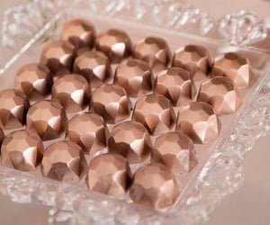 chocolate and rose gold image