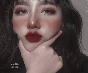 girl, makeup, and ulzzang image