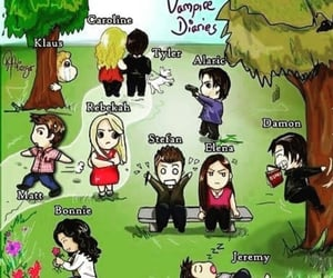characters, meme, and vampirediaries image