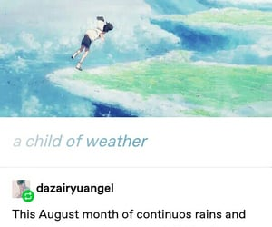 tumblr and weathering with you image