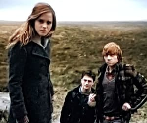 deathly hallows, lovegood, and harry potter image