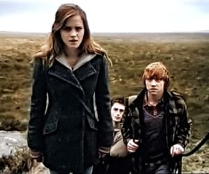 deathly hallows, harry, and lovegood image