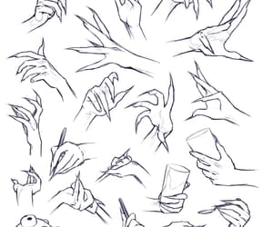 clawed hands reference and clawed hands image