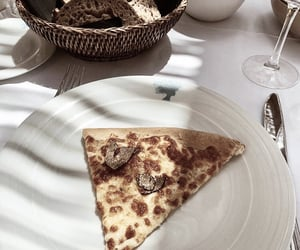 food, pizza, and fresh taste image