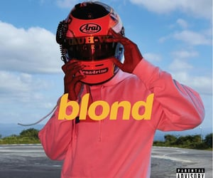 frank ocean, blond, and music image