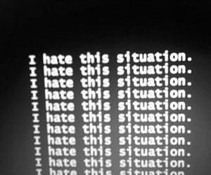 grunge, hate, and black image