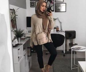 blazer, pants, and fall image