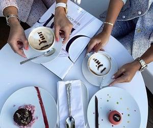 beauty, cake, and cofee image