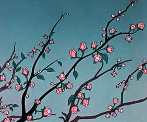 animation, blossom, and flowers image