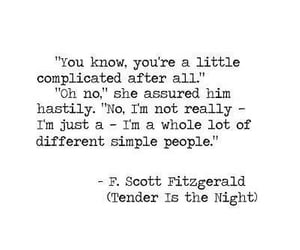 book, tender is the night, and f. scott fitzgerald image