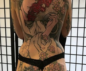 flower, Tattoos, and tatouages image