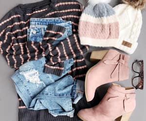 casual, ropa, and gorro image