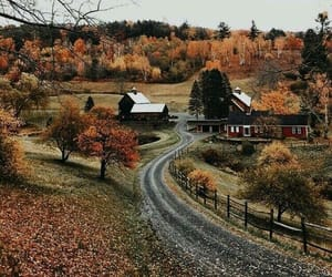 autumn, countryside, and cozy image