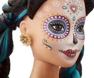 barbie, cultura, and dia de muertos image