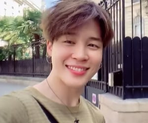 bts, cute, and park jimin image