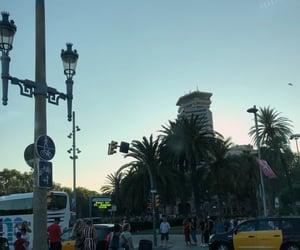 Barcelona, palm, and city image