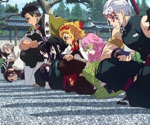 kimetsu no yaiba, anime, and anime girl image