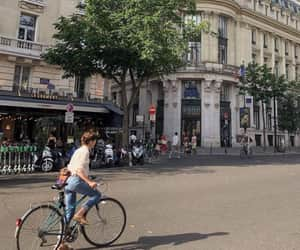 bike, ride, and city image