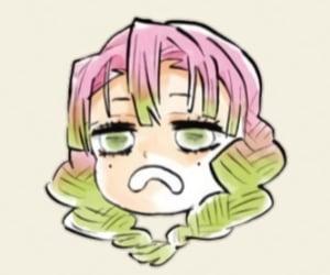 anime girl, color, and icons image