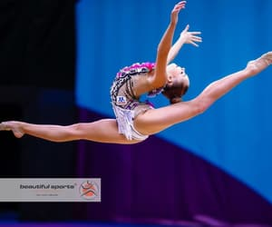 flexibility and rhythmic gymnastics image
