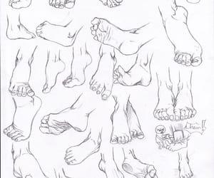 feet, sketch reference, and feet sketch reference image