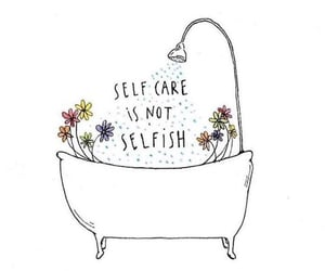 time out, self care, and looking after you image