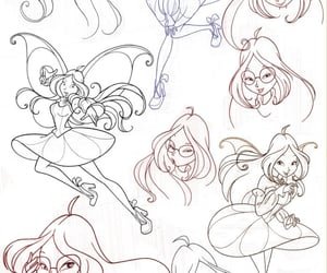flora, magic bloom, and winx club image