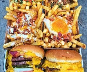 burger, cheese, and cheeseburger image