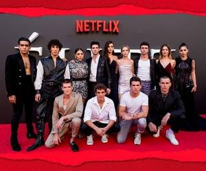 cast, elite, and premiere image