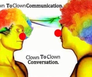 clown, meme, and quotes image