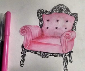 fashion, furniture, and pink image