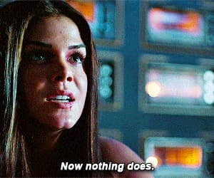 gif, the 100, and octavia image
