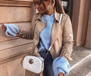 accessories, berlin, and beige coat image