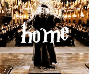 gif, hogwarts, and hello september image