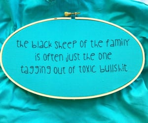 blue, family, and cross-stitch image