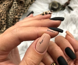 fashion, nails, and trendy image
