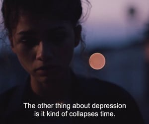 euphoria, depression, and zendaya image