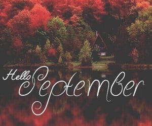 autumn, September, and fall image