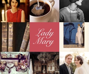 downton abbey and lady mary image