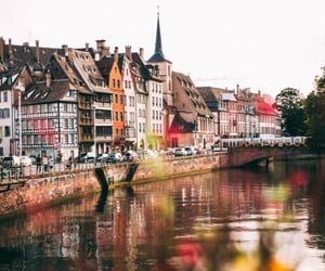 france, travel, and Strasbourg image