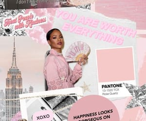 Collage, pink, and pretty image