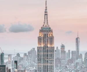 background, newyork, and pink image