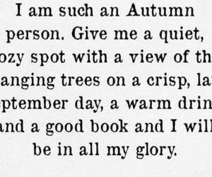 autumn, books, and chocolate image