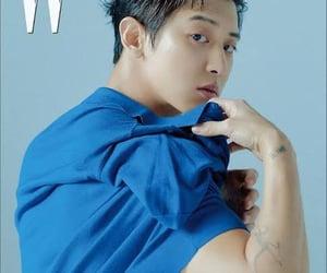 blue, korean, and kpop image