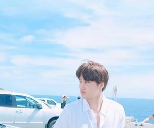 beach, kim, and blue image