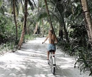 biking, trip, and Maldives image